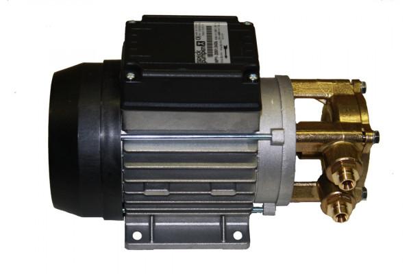 Speck Wasserpume, 230 Volt, hoher Kasten, Kondensator innen, Messingkopf gedreht, NPY 2051