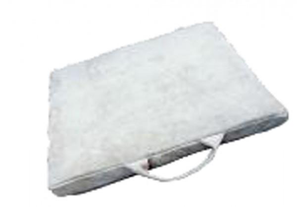 Schweißerkissen, Rind-Spaltleder, 40x40x8