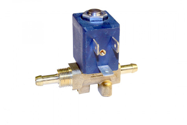 """Magnetventil Ceme, Typ 5536, 24 Volt DC, mit Tülle beidseitig, 6mm, 1/4"""" rechts"""