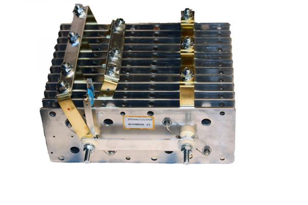 Gleichrichter SCOMES, 12 Platten, 100 x 250, 48 Dioden, 500 A