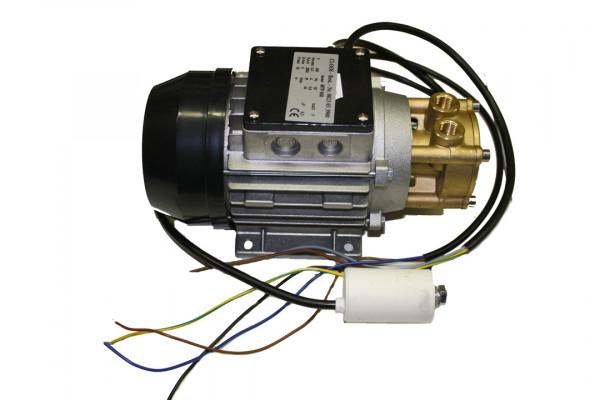 Ceme Wasserpume, 400 Volt, flacher Kasten, Kond. lose, Messingkopf, MTP 600, Stecker CLOOS
