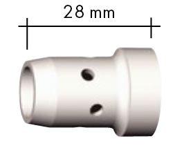 Gasverteiler weiß Standard 28,0 mm