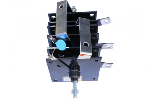 Gleichrichter SCOMES, 6 Platten, 100 x 100, 18 Dioden, 120 A, Plasma