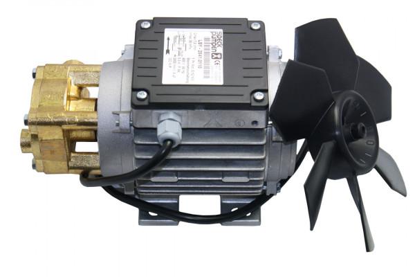 Speck Wasserpume, 400 Volt, flacher Kasten, Kondensator lose, Messingkopf gedreht, LSY 2841