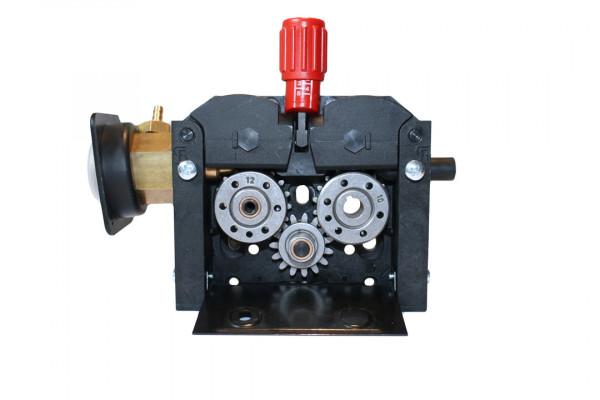SwissFeed SF 300, 4-Rollen Drahtvorschubgetriebe, Rolle 37mm, Links