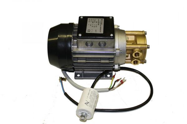 Speck Wasserpume, 400 Volt, flacher Kasten, Kondensator lose, Messingkopf, Y2951