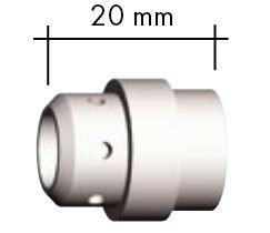 Gasverteiler weiß Standard 20,0 mm