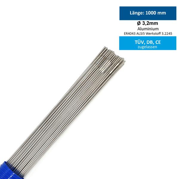 WIG-Schweißstab AlMg5 ALU 3,2mm