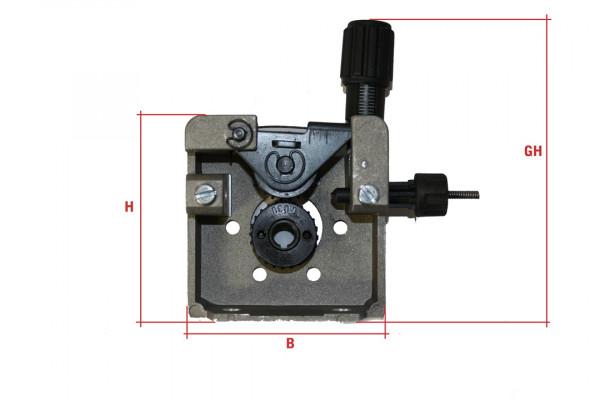 Drahtvorschubgetriebe DVGE 2, Rollengröße 30mm, Rollenzahl 2