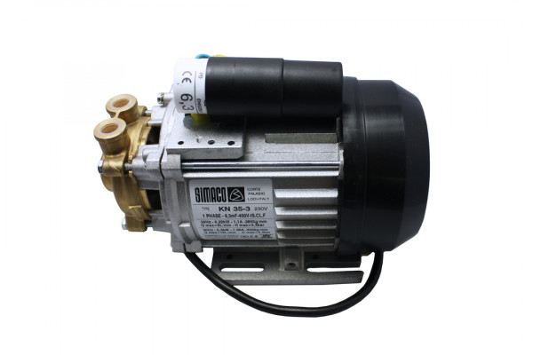 Simaco Wasserpume, 230 Volt, Kondensator montiert, Messingkopf, KN 37