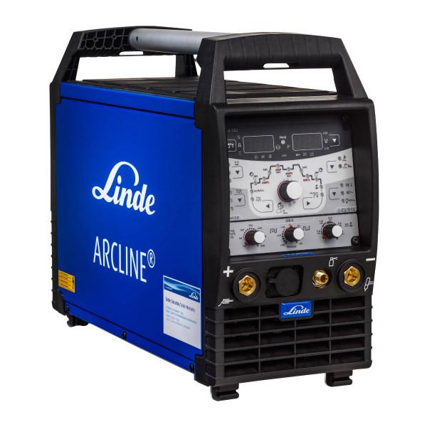 LINDE ARCLINE TPL 300 puls AC/DC (gasgekühlt) inkl. 4m Schlauchpaket und Zubehör