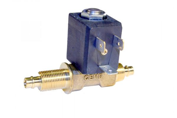 Magnetventil Ceme, Typ 5535, 24 Volt DC, mit Tülle beidseitig und Überwurfmutter