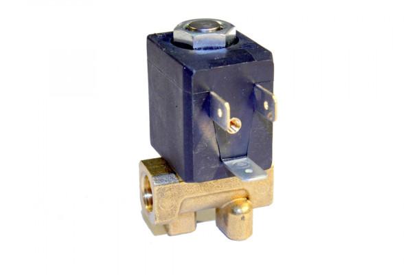 """Magnetventil Ceme, Typ 5410-1/4"""", 24 Volt DC, beidseitig Innengewinde 1/4"""" rechts"""