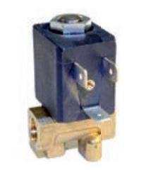 """Magnetventil Ceme, Typ 5510-1/8"""", 24 Volt DC, beidseitig Innengewinde 1/8"""" rechts"""