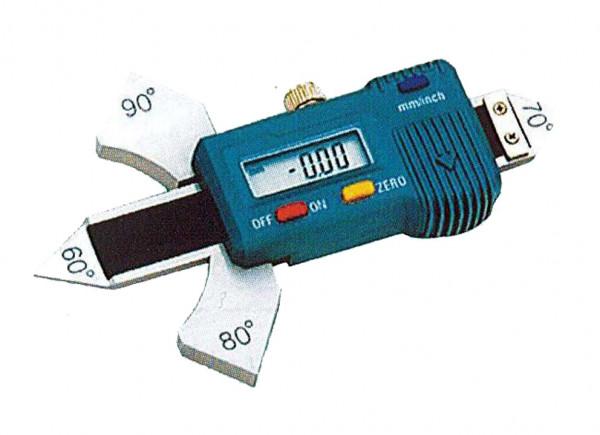 Schweißnahtlehre, digital für 60° 80° 90°, Messbereich von 0-20mm