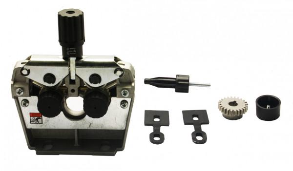 Cooptim Drahtvorschubgetriebe CWF401, ohne Motor, Rollenzahl 4