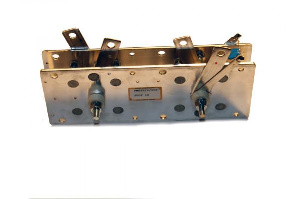 Gleichrichter SCOMES, 2 Platten, 100 x 140, 12 Dioden, 140 A, Monophase