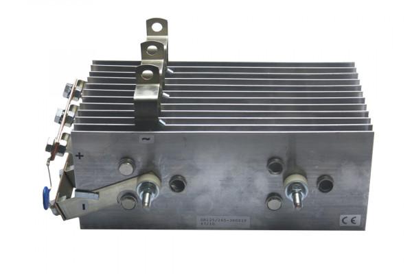 Gleichrichter SCOMES, 12 Platten, 100 x 250, 36 Dioden, 360 A