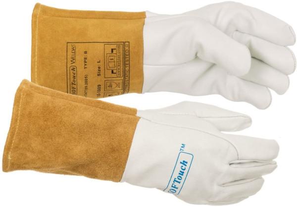 Weldas WIG Handschuh SOFTouch 10-1009 Ziegen-Vollleder
