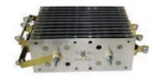 Gleichrichter SCOMES, 12 Platten, 100 x 250, 72 Dioden, 600 A, Thermoschalter, Anschl. Oben
