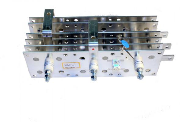 Gleichrichter SCOMES, 6 Platten, 100 x 300, 42 Dioden, 440 A, Thermoschalter