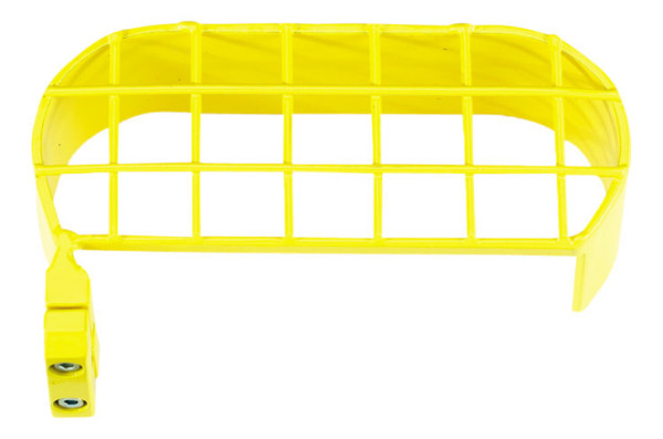 Manometer Schutzbügel gelb Azetylen