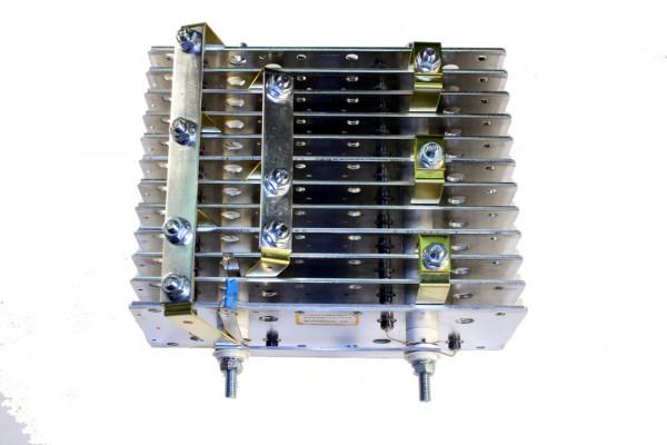 Gleichrichter SCOMES, 12 Platten, 100 x 250, 42 Dioden, 420 A